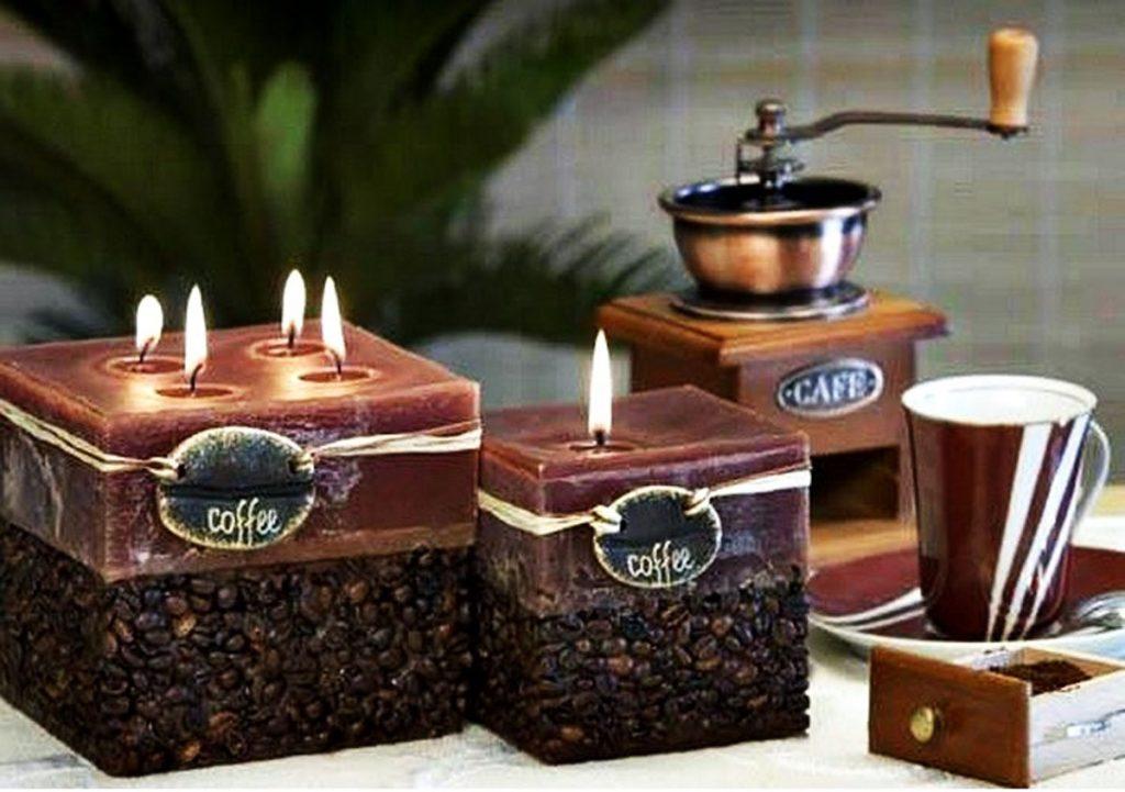 fabrication bougie senteur caf faites le vous m me. Black Bedroom Furniture Sets. Home Design Ideas