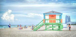 South Beach en Floride
