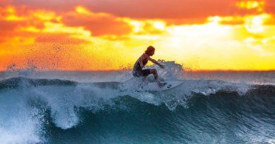 Une destination de surf